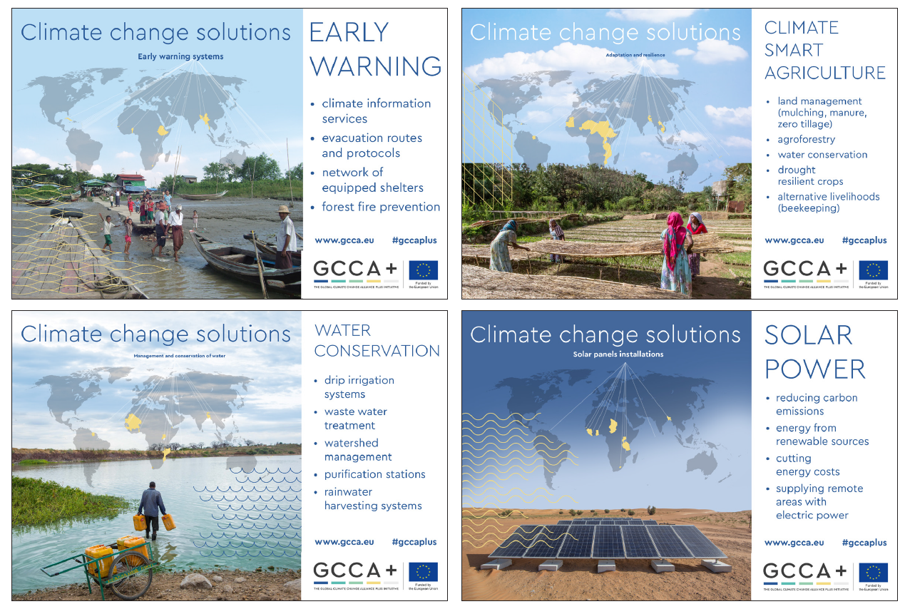Climate solution panels