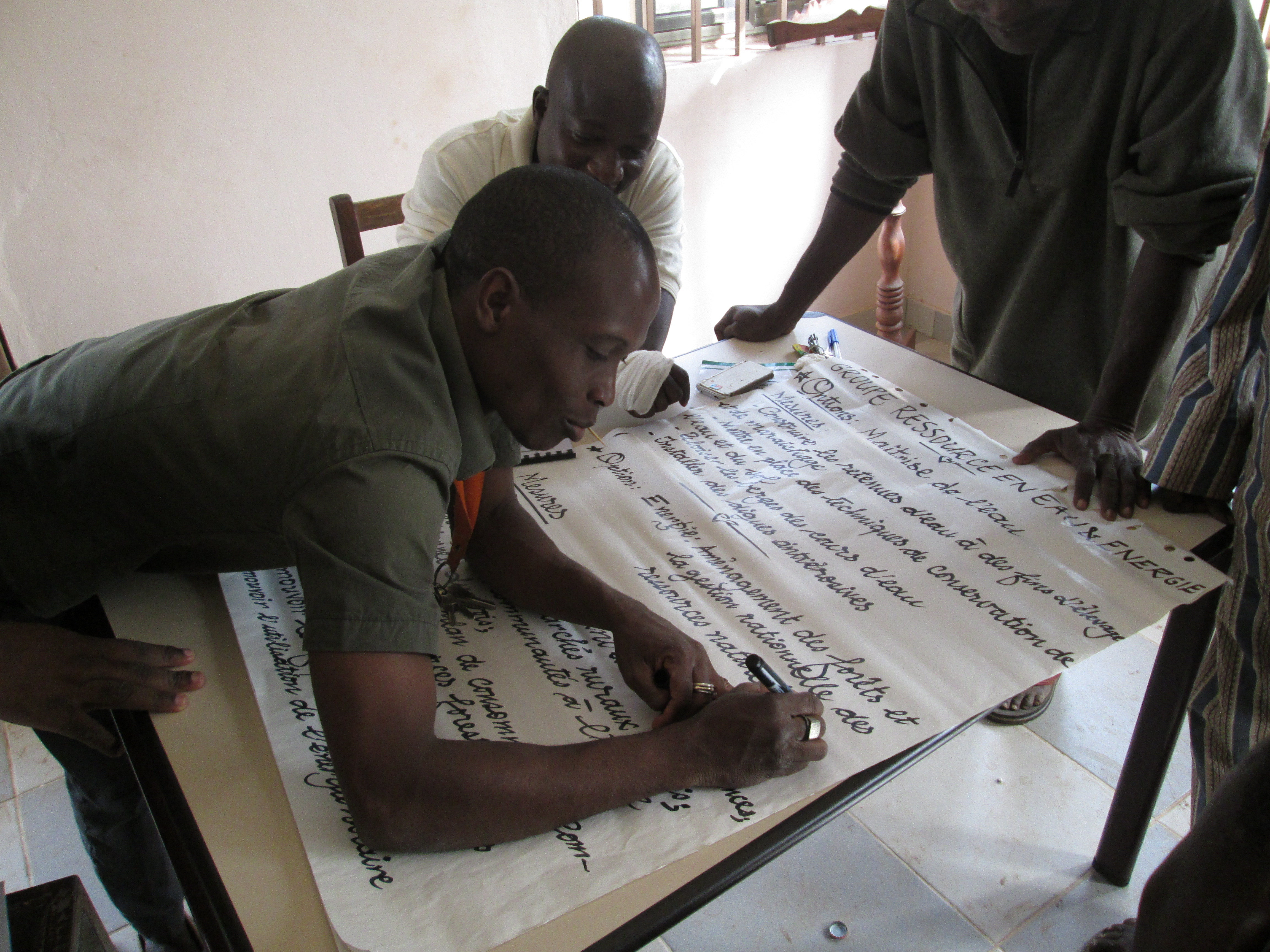 Participative approach in local planning processes in Benin